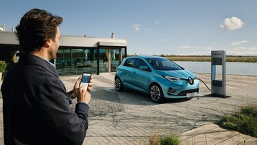 Renault ZOE - aplicația MY Renault