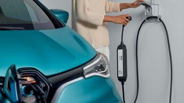 Priză de încărcare la domiciliu Zoe E-Tech electric
