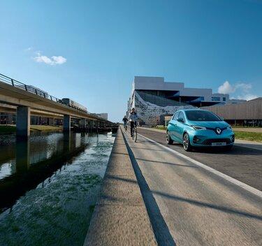 Mașina electrică de oraș Renault Zoe E-Tech electric