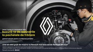 Pachete promotionale franare Renault Service