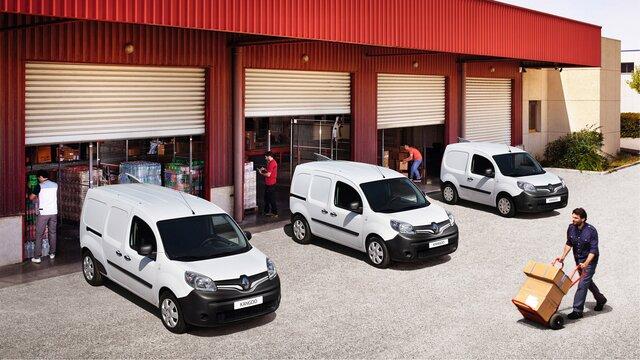Profesioniști Renault - Autoutilitara Renault Kangoo