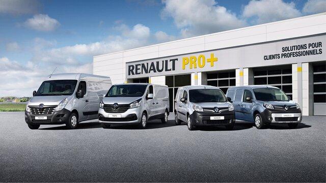Renault pentru profesioniști