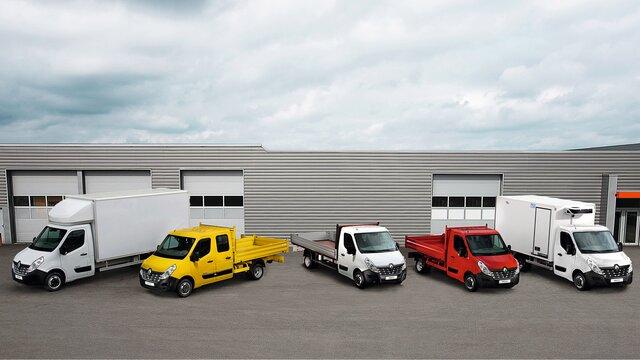 Profesioniști Renault - Gama de autoutilitare speciale