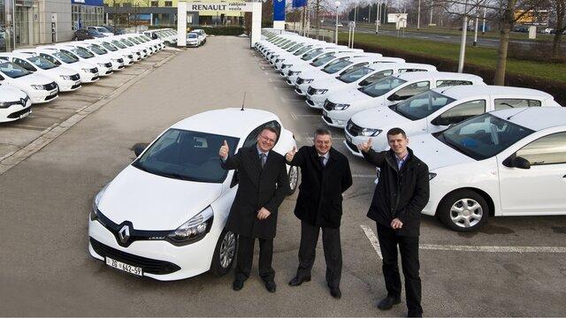 Profesioniști Renault - Pentru societăți: gestiunea flotei de către reprezentanța Renault