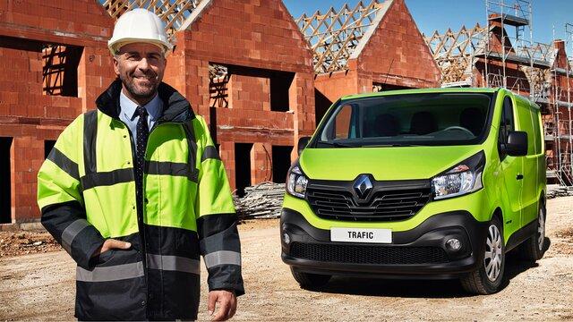 Flote de autoutilitare Renault pentru clienți majori