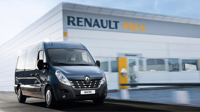 Profesioniști Renault - Rețeaua de specialiști Renault Pro+ - Renault Master - Reprezentanțe Renault Pro+