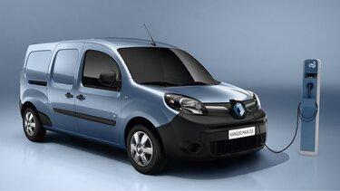 Renault Kangoo Express Z.E. - Gama de autovehicule electrice pentru profesioniști - încărcare - preț accesibil