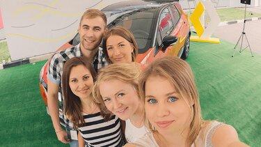 станьте частью активной жизни в Renault