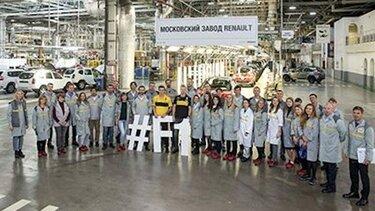 Визит пилотов Renault Sport Formula One Team