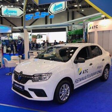 Renault  представила прототип седана Renault LOGAN с газобаллонной установкой