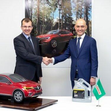 Компании Renault Россия и Castrol Россия подписали договор о сотрудничестве