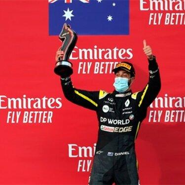Уже дважды за сезон команда Renault DP World F1 поднимается на подиум