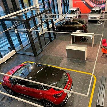 Renault Россия внедряет новые стандарты внутреннего оформления дилерских центров Renault Store Evolution