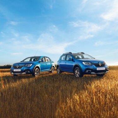 Renault Россия открывает прием заказов на Renault LOGAN Stepway и Renault SANDERO Stepway