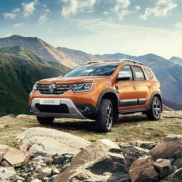 Новый Renault DUSTER получил новые цвета кузова — оранжевый