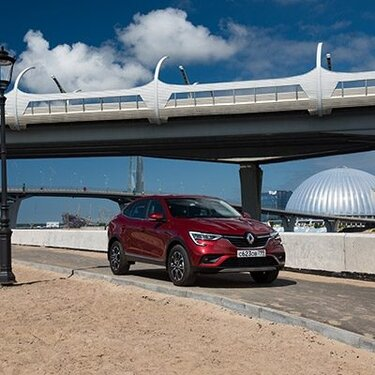 Renault ARKANA EDITION ONE в парке «аренда авто»