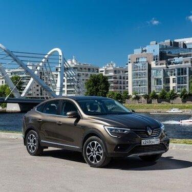 Renault Россия объявляет о старте продаж Renault ARKANA в дилерской сети