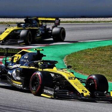 Renault F1 Team не смогла набрать очков на Гран-при Испании