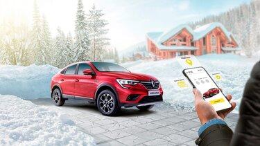 Испытайте Renault ARKANA там, где вам удобно!
