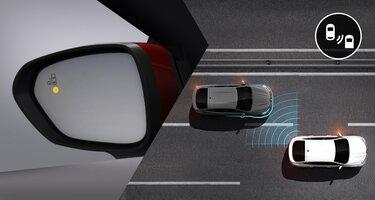 Система контроля слепых зон Renault ARKANA