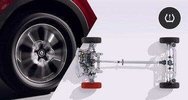 Система контроля давления в шинах Renault ARKANA