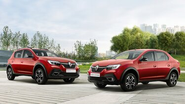обои - Renault STEPWAY FAMILY