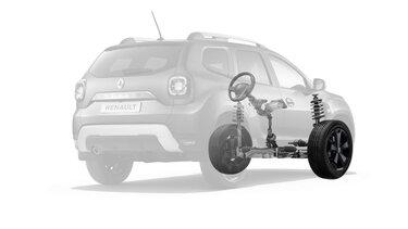 релевой механизм - Renault DUSTER