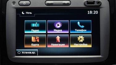 7-дюймовый широкоформатный сенсорный дисплей