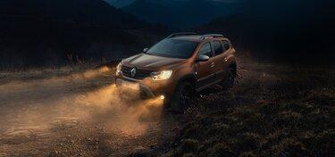 Оборудование Новый Renault DUSTER