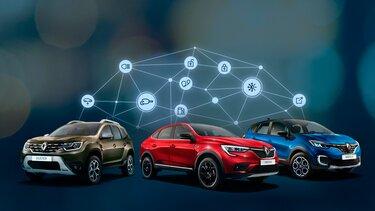 подключаемые сервисы Renault CONNECT