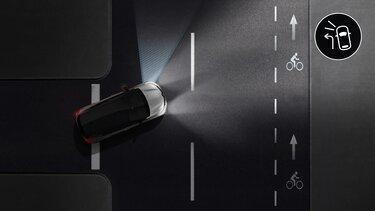 Функция освещения поворотов Renault KAPTUR