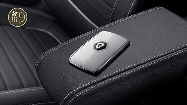 Ключ-карта с функцией «свободные руки» и системой дистанционного запуска двигателя Renault