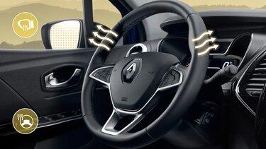 Обогрев руля и зеркал Renault
