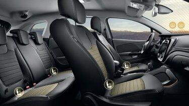 Обогрев лобового стекла и заднего ряда сидений Renault KAPTUR