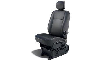 Подрессоренное сиденье водителя