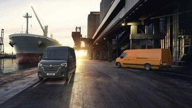 Вдохновенный стилем западных грузовиков Renault Master