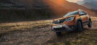 Технологии 4х4 - Новый Renault DUSTER
