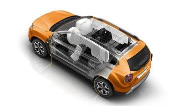 6 подушек безопасности Новый Renault DUSTER