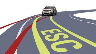 новый Renault DUSTER ESP система