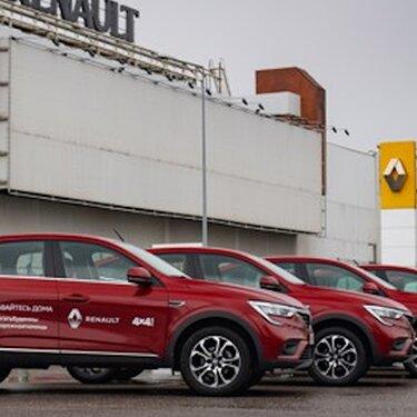 Renault Россия присоединилась к масштабной акции «Оставайся дома»