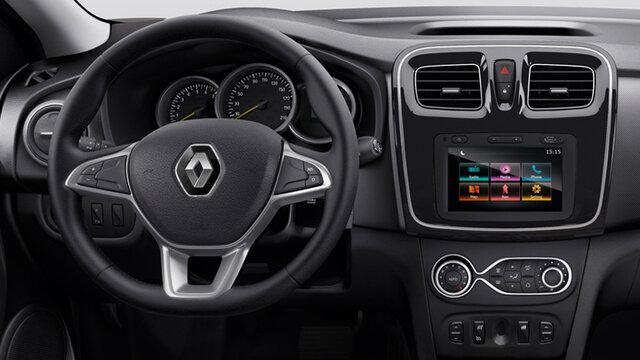 Renault Сандеро салон