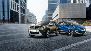 Renault KAPTUR. Renault DUSTER