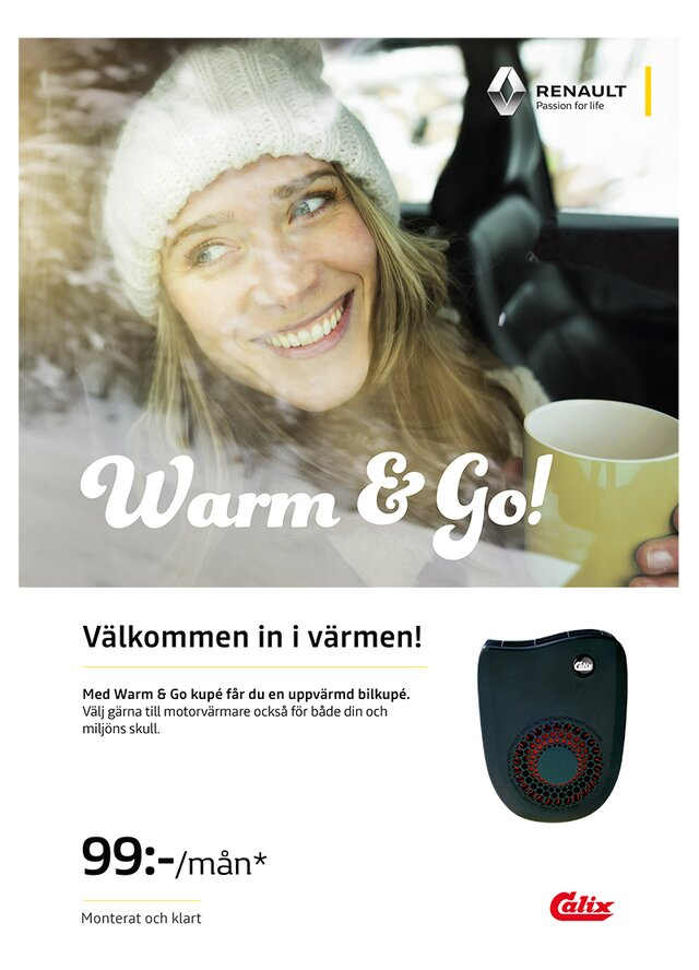 Renault  Warm & Go