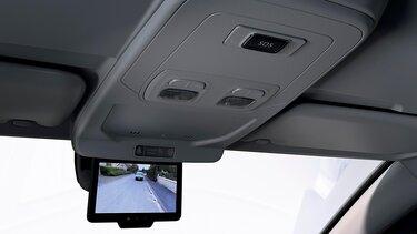 Kangoo interior- digital backspegel
