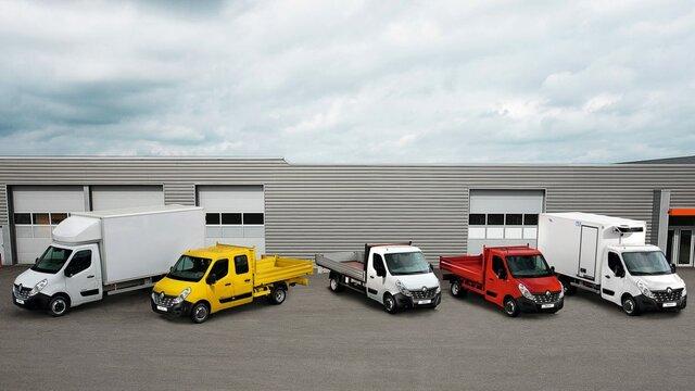 Renault TAILOR MADE påbyggnationer
