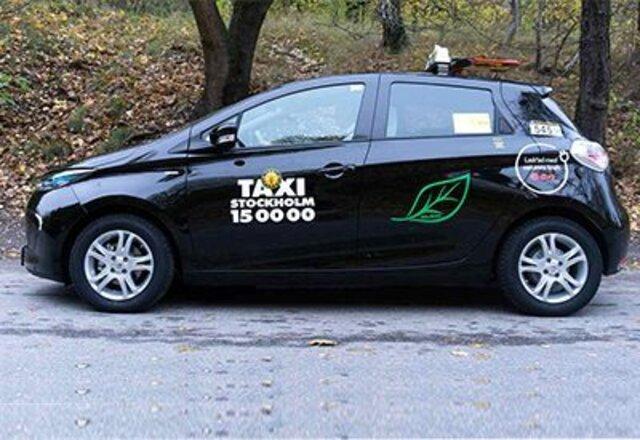 Renault ZOE - Taxi i Stockholm