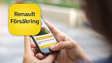 Renault Försäkrings app