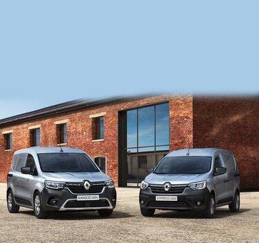 Nya Renault modeller - KANGOO & EXPRESS