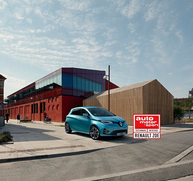 Renault ZOE är en eldriven stadsbil