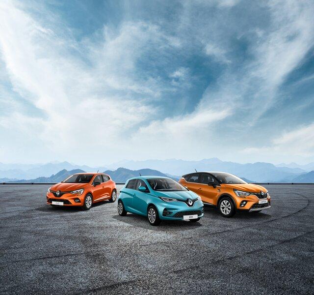 Leveransklara Renault modeller